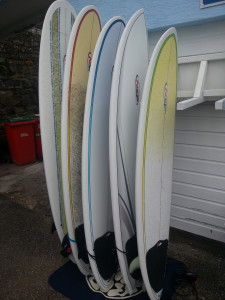 New NSP Surfboards